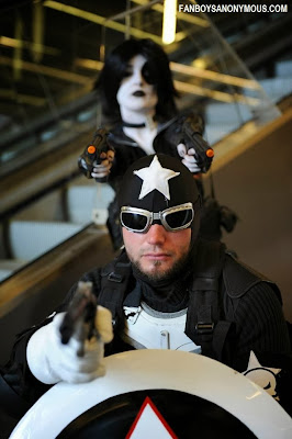 Frank Castle Captain Punisher Domino X-Men X-Force