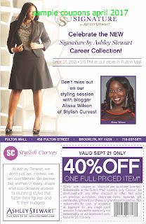 free Ashley Stewart coupons april 2017