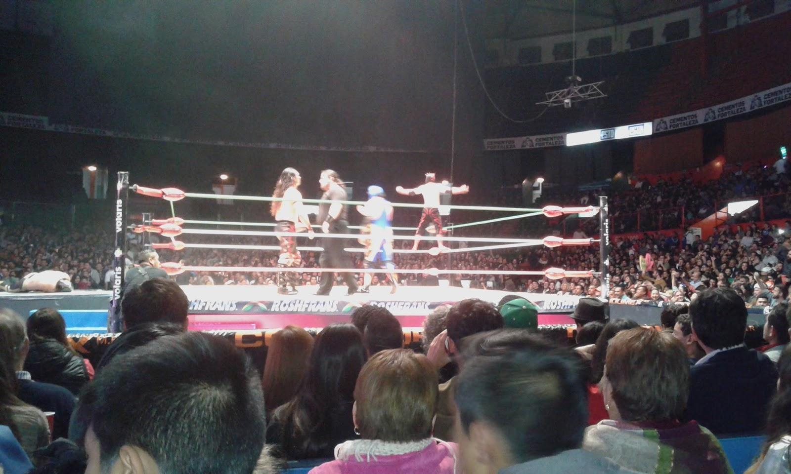 5c38dc7a11 ... función luchística del Consejo Mundial de Lucha Libre, en este caso, de  la Arena México, el principal recinto luchístico de la República Mexicana.