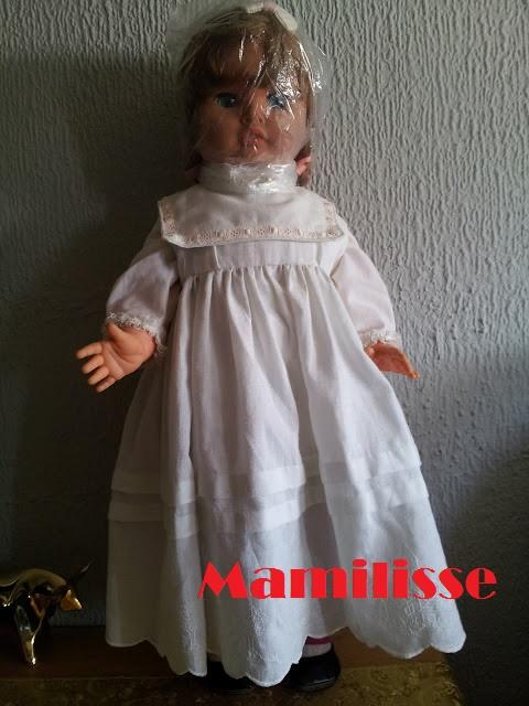 Muñeca Cristina vestida de largo