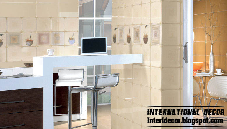 Modern Kitchen Wall Ceramic Tiles Design Beige Ceramic Tiles