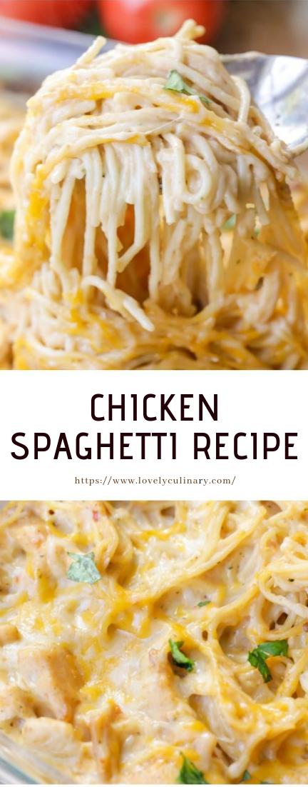 CHICKEN SPAGHETTI RECIPE #recipe #dinner
