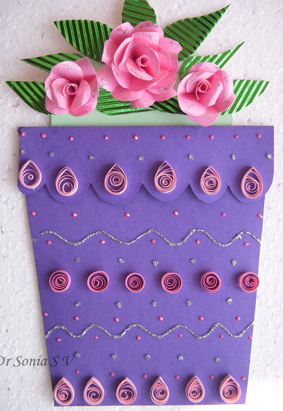 Cards crafts kids projects flower pot card and tutorial flower pot card and tutorial mightylinksfo