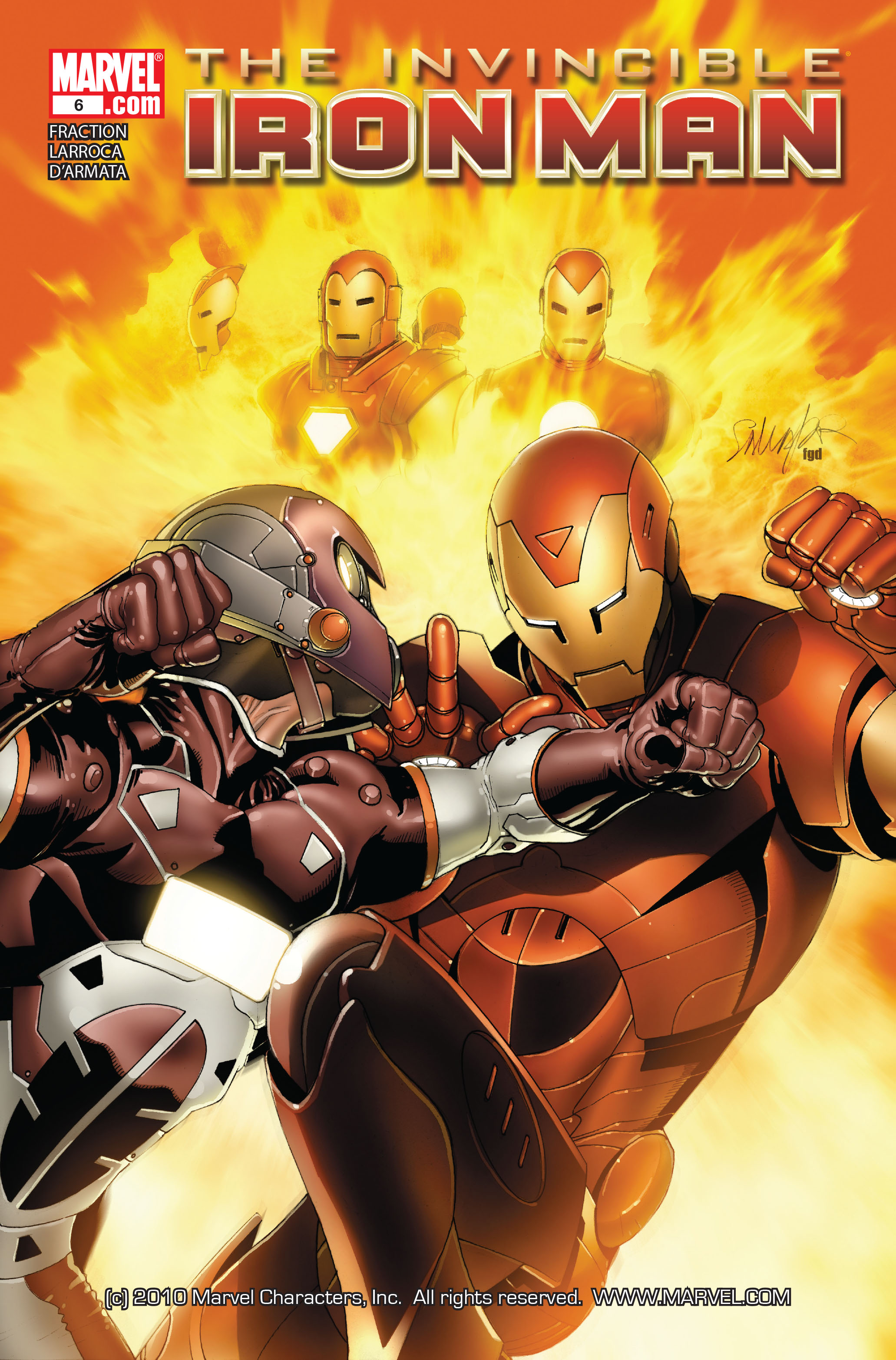 Invincible Iron Man (2008) 6 Page 1
