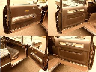 1959 Cadillac Fleetwood Brougham Limousine Door