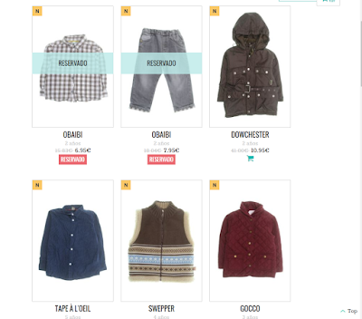 Percentil-Vende la ropa usada de tus niños