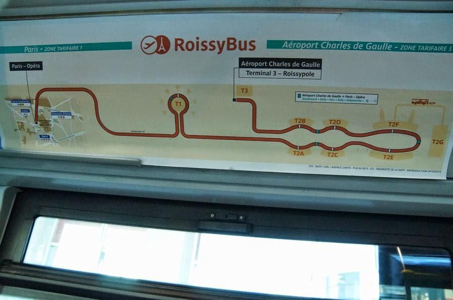 recorrido roissybus