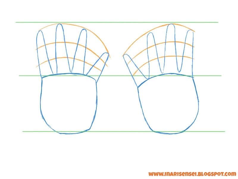 dessiner les doigts