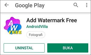 Cara Menambah Watermark Pada Foto/Gambar di Android