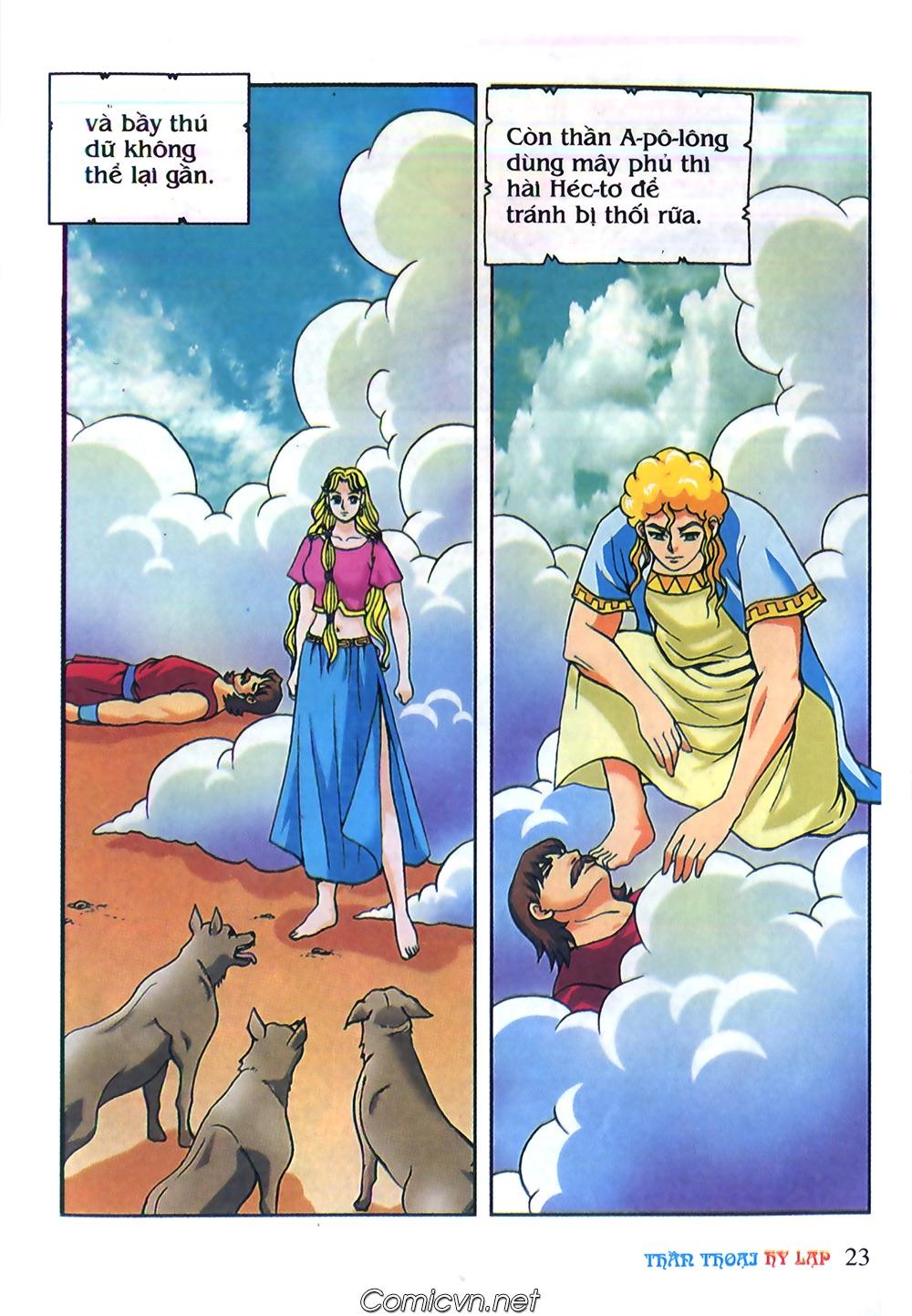 Thần Thoại Hy Lạp Màu - Chapter 62: Hector tử trận - Pic 23