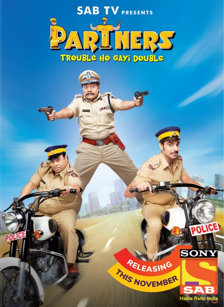 Sab TV Partners wiki, Full Star Cast and crew, Promos, story, Timings, BARC/TRP Rating, actress Character Name, Photo, wallpaper. Partners on Sab TV wiki Plot,Cast,Promo.Title Song,Timing