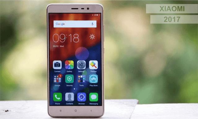 Daftar Harga Xiaomi 2017 Dan Spesifikasinya