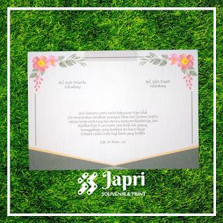 Cetak Undangan Pernikahan Blangko Maliq 51
