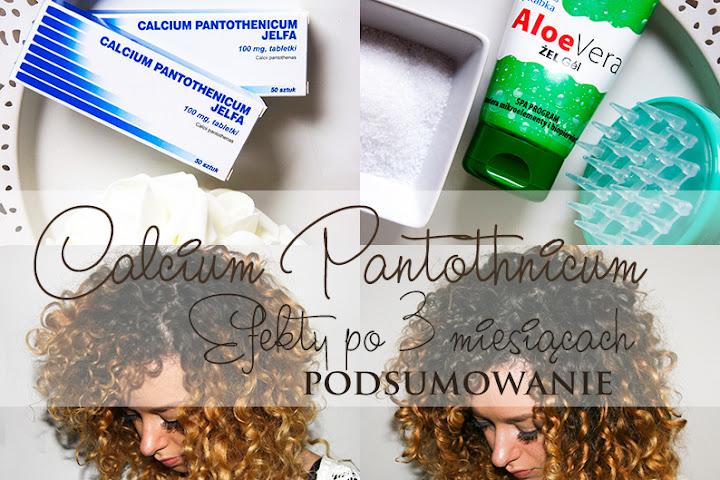 CALCIUM PANTOTHENICUM - EFEKTY PO 3 MIESIĄCACH & PODSUMOWANIE