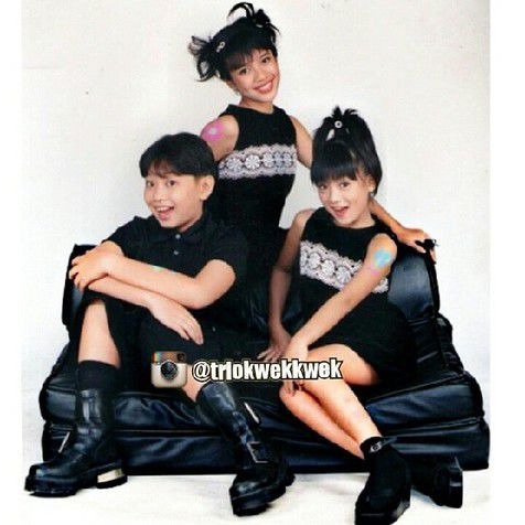 Nostalgia Penyanyi Cilik, Trio Kwek-Kwek