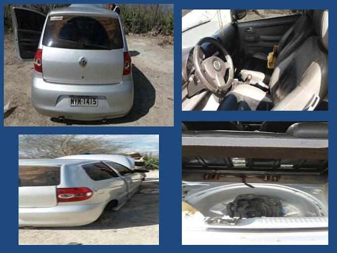 2ª CIPM-Polícia Militar de João Câmara recupera mais um veículo roubado