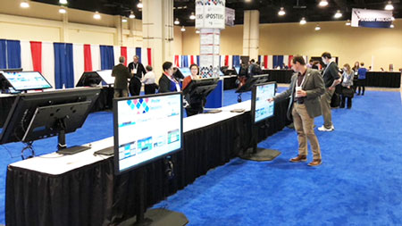 iPoster section of the AAS 231st meeting in Washington, DC