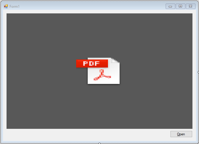 FoxLearn | Windows Forms: How to Open and Show a PDF file in C#