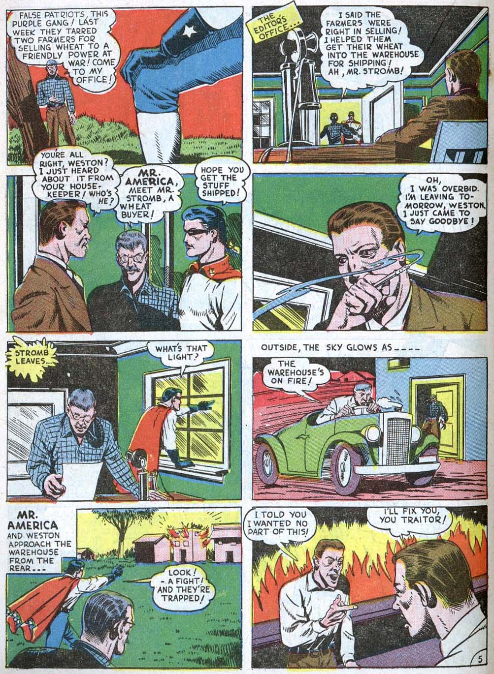 Read online Action Comics (1938) comic -  Issue #40 - 42