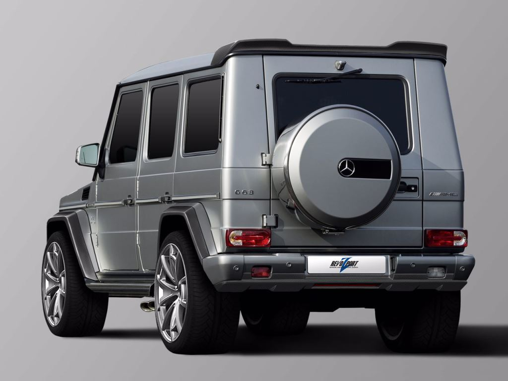 RevoZport Goes Bananas With G63 And G65 Mods