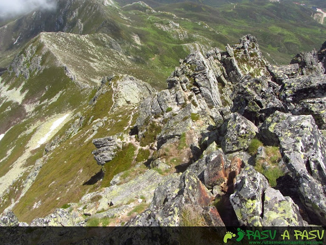Ruta al Pico Torres y Valverde: Arista Este del Torres