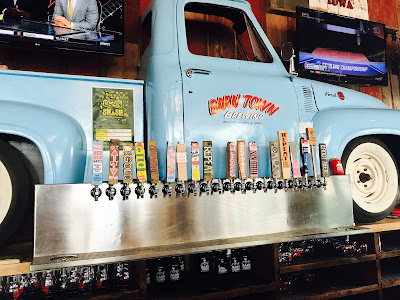Photo of Barn Town Brewing Truck with Beer Taps.
