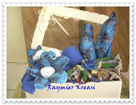 Raymier Kreasi Seserahan Bahan Batik