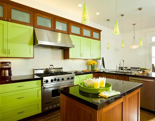 verde cozinha