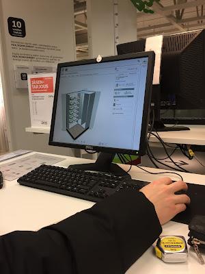 Ikea Pax suunnitteluohjelma, Ikea pax suunnittelu