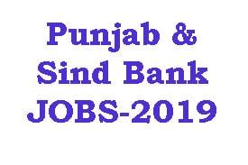 Punjab & Sind Bank JOBS