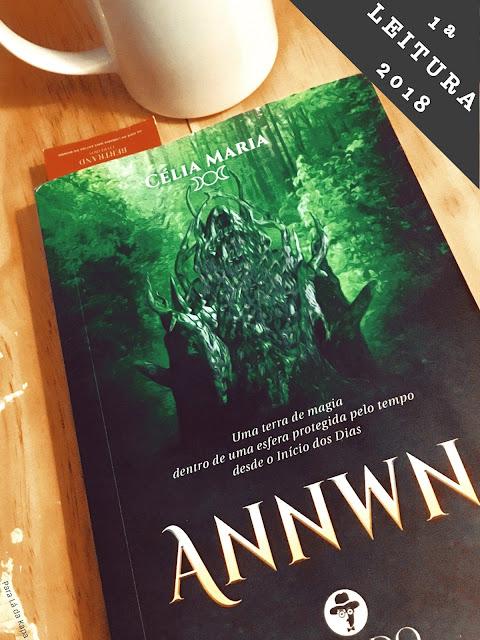 1ª Leitura de 2018, Annwn, Célia Maria, Chiado Editora