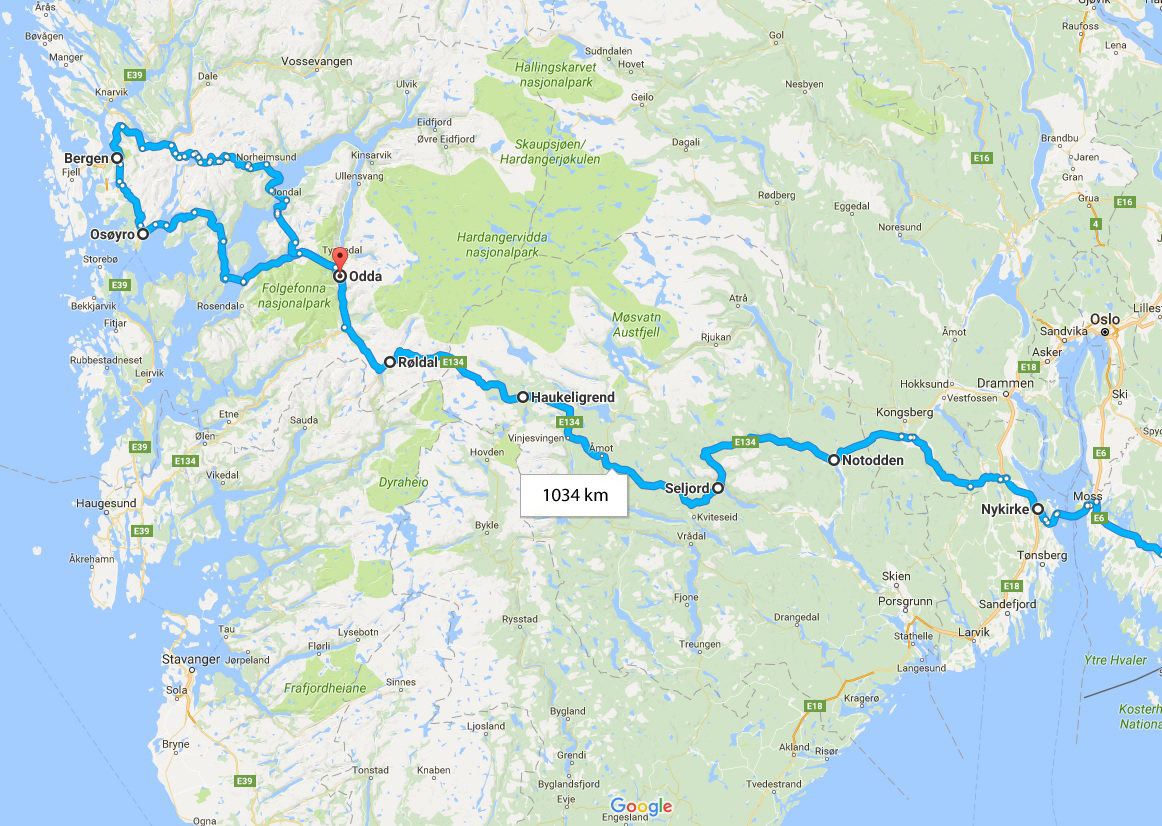 Travel Electric Weekend Trip To Bergen