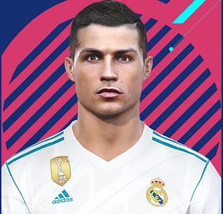 PES 2018 Cristiano Ronaldo Facepack by MarioMilan & AlirezaFree