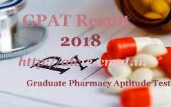 AICTE GPAT Result 2018   AICTE GPAT 2018 Result   AICTE GPAT Results 2018   AICTE GPAT 2018 Results   AICTE GPAT Merit list 2018   AICTE GPAT Score Card 2018