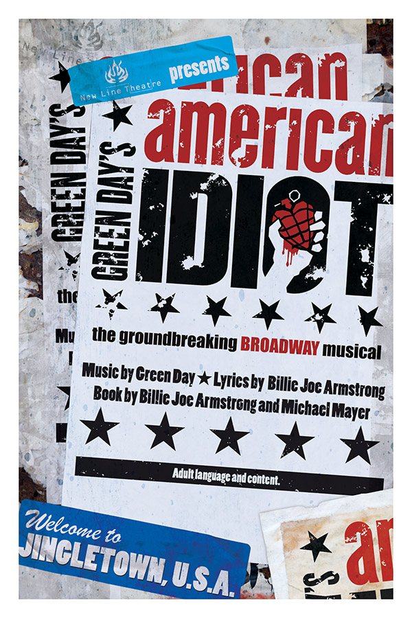 American Idiot Musical Poster