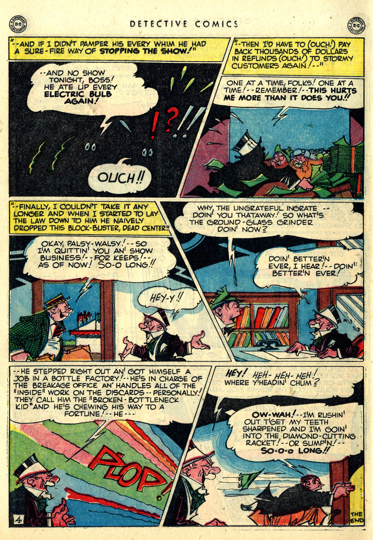 Read online Detective Comics (1937) comic -  Issue #121 - 36