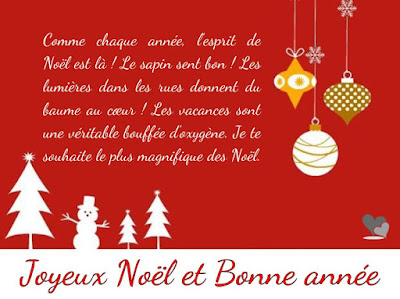 Message pour Noël original
