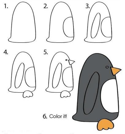 رسومات بالرصاص سهلة جدا وجميلة للاطفال
