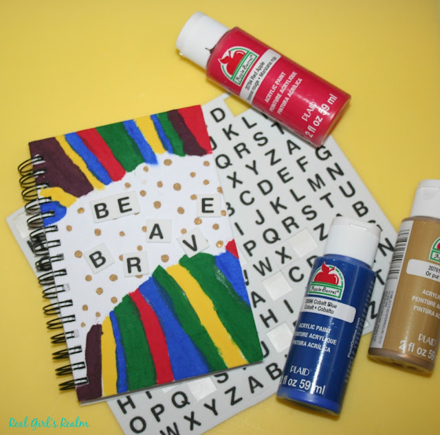 Customize your journal with a DIY Painted cover!