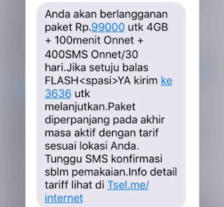 info paket internet murah telkomsel 4gb