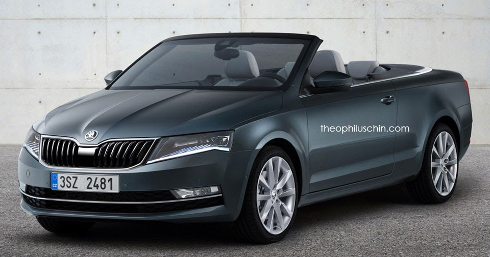 Should Skoda Build This Octavia Cabrio To Challenge The
