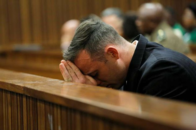 South African court of Appeal increases Oscar Pistorius's jail sentence to 13 years and five months