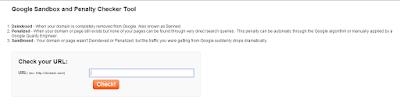 Cara Mengetahui Blog Terkena Google Sandbox