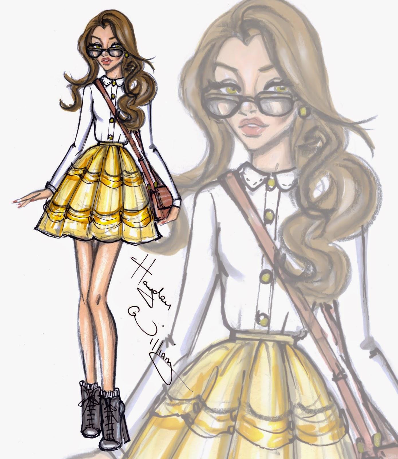 Diva Design: Hayden Williams Fashion Illustrations: Disney Diva