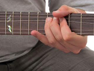 belajar bermain melodi gitar