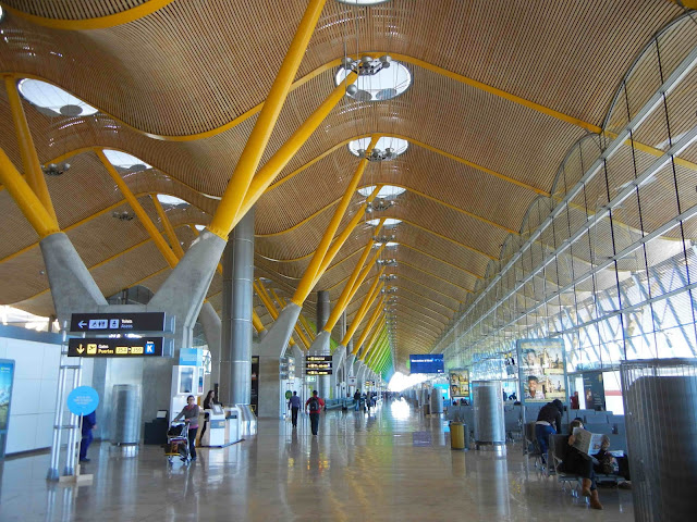 Aeroporto de Barajas em Madri