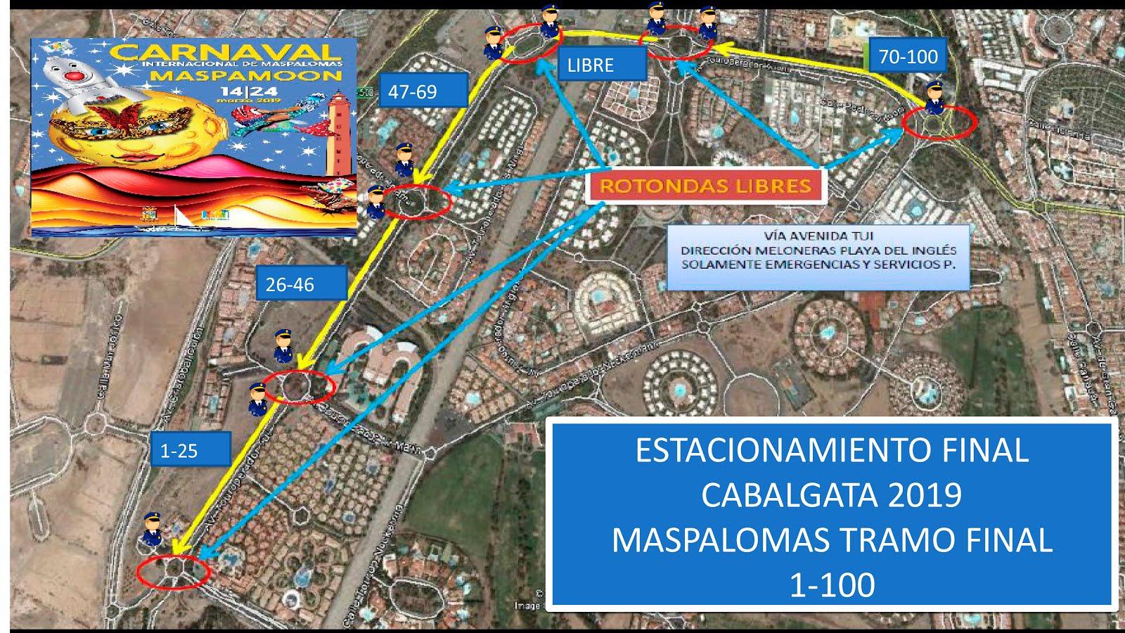 Entradas Carroza Carnaval de Maspalomas 12222