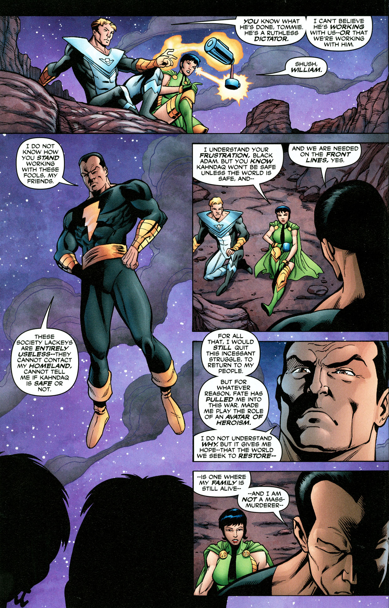 Read online Trinity (2008) comic -  Issue #32 - 23