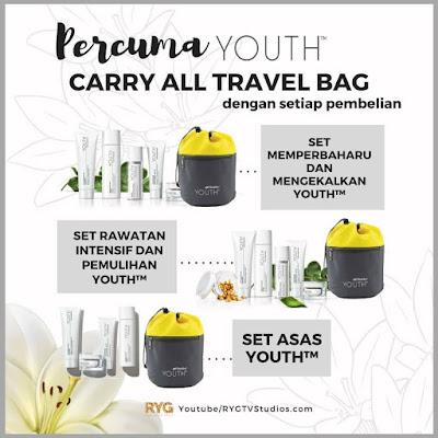 percuma carry all travel bag youth
