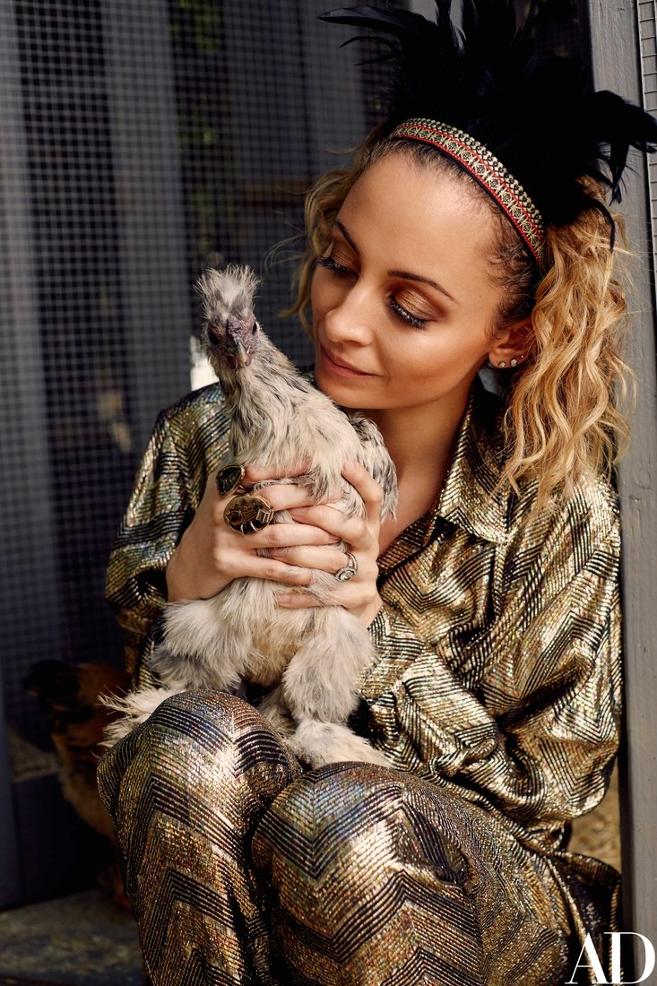 NICOLE RICHIE FASHION: Nicole for Architectural Digest Nicole Richie